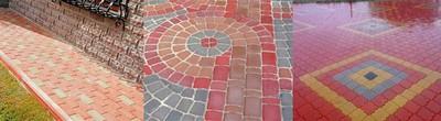 Виды тротуарной плитки |База СТБ